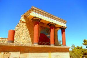 crete knosos palace