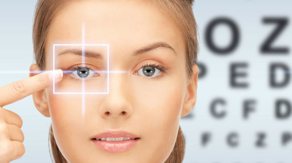 "Offer | A ""new clear vision"" by LASIK eye surgery"